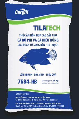Thức ăn HH cao cấp cho cá Rô phi và cá Điêu Hồng 7534-HB