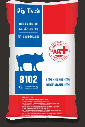 Thức ăn HH cao cấp cho heo 8102 (Từ 15 - 25kg)