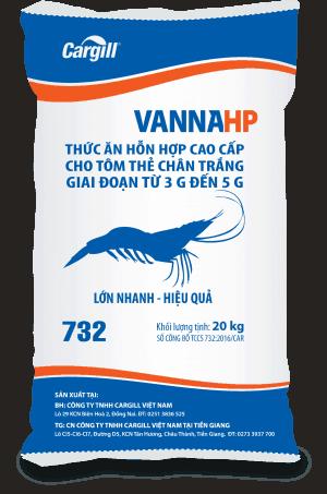 Thức ăn HH cao cấp cho tôm thẻ chân trắng 732