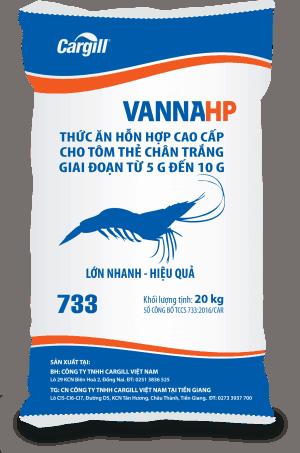 Thức ăn HH cao cấp cho tôm Thẻ chân trắng 733