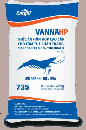 Thức ăn HH cao cấp cho tôm thẻ chân trắng 735