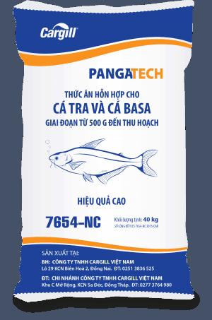 Thức ăn HH cho cá Tra, cá Basa 7654 NC