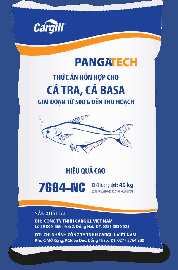 Thức ăn HH cho cá Tra, cá Basa 7694 ND