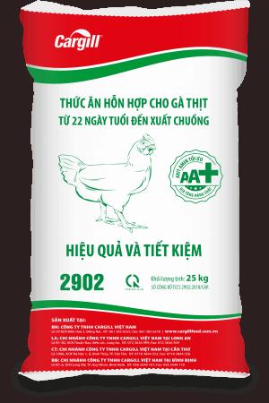 Thức ăn HH cho gà thịt 2902