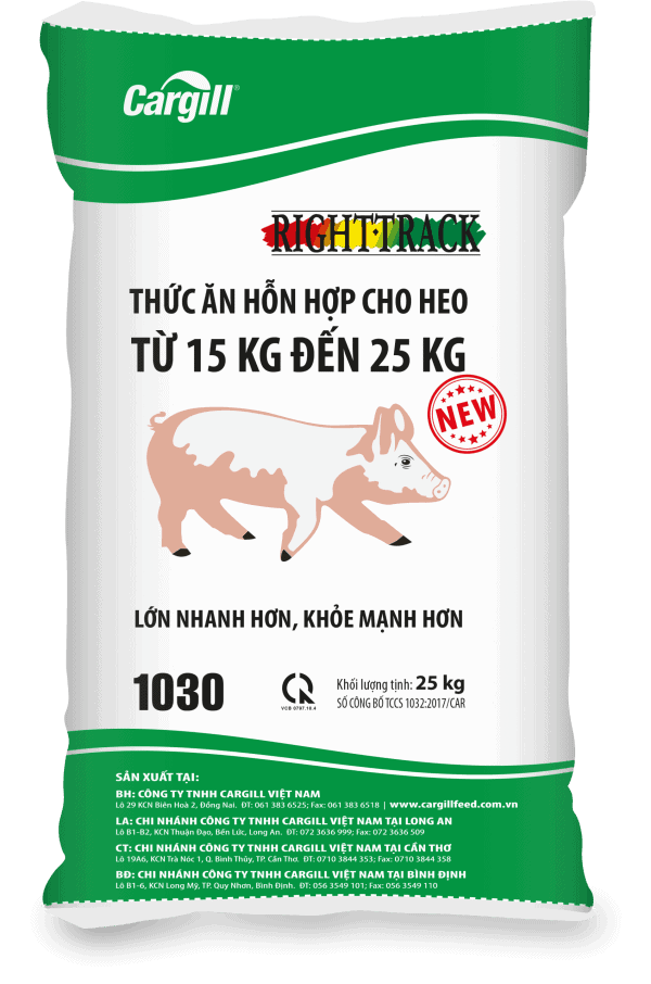 THỨC ĂN HH CHO HEO 1030 (TỪ 15KG-25KG)