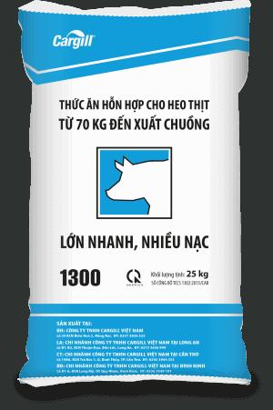 Thức ăn HH cho heo thịt 1300 (Từ 70Kg đến xuất chuồng)