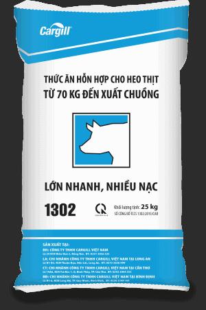 Thức ăn HH cho heo thịt 1302 (Từ 70Kg đến xuất chuồng)
