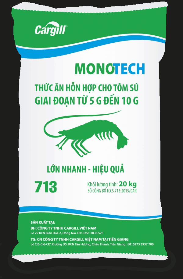 Thức ăn HH cho tôm Sú 713