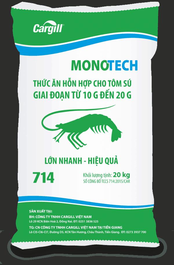 Thức ăn HH cho tôm Sú 714