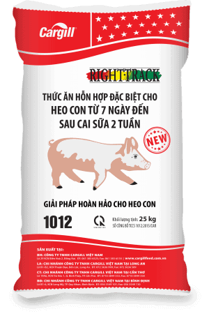 Thức ăn HH đặc biệt cho heo con 1012