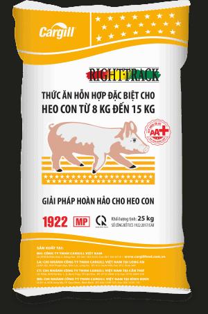 Thức ăn HH đặc biệt cho heo con 1922-MP + (Từ 8 - 15Kg)
