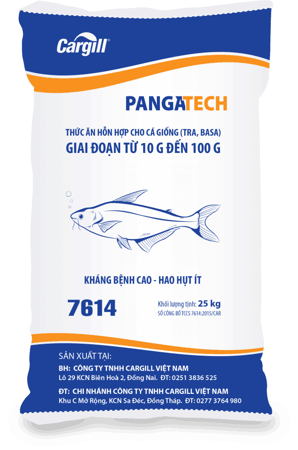 Thức ăn cho cá Tra, Ba Sa 7614