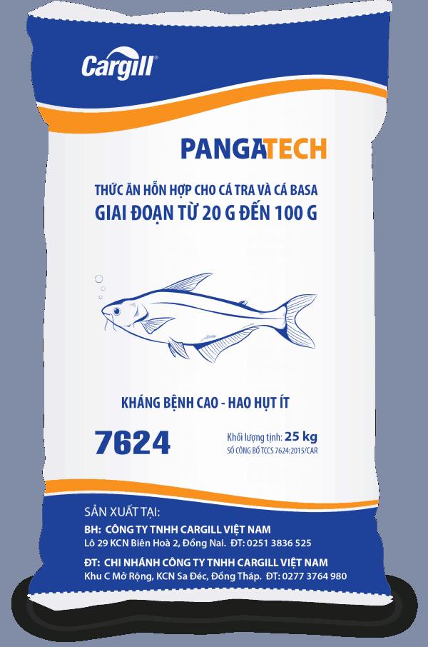 Thức ăn HH cho cá Tra và cá BaSa 7624