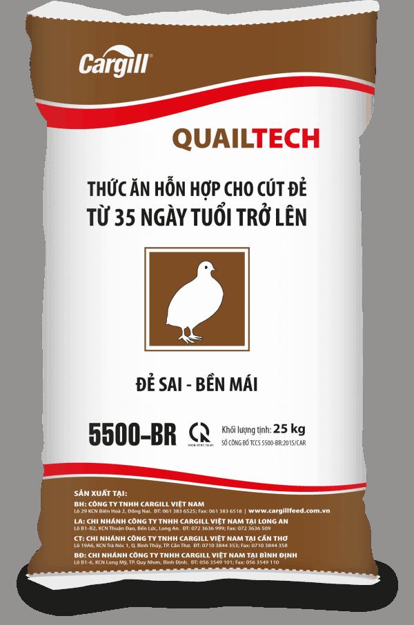 Thức ăn HH cho cút đẻ 5500-BR