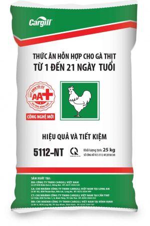 Thức ăn HH cho gà thịt 5112-NT