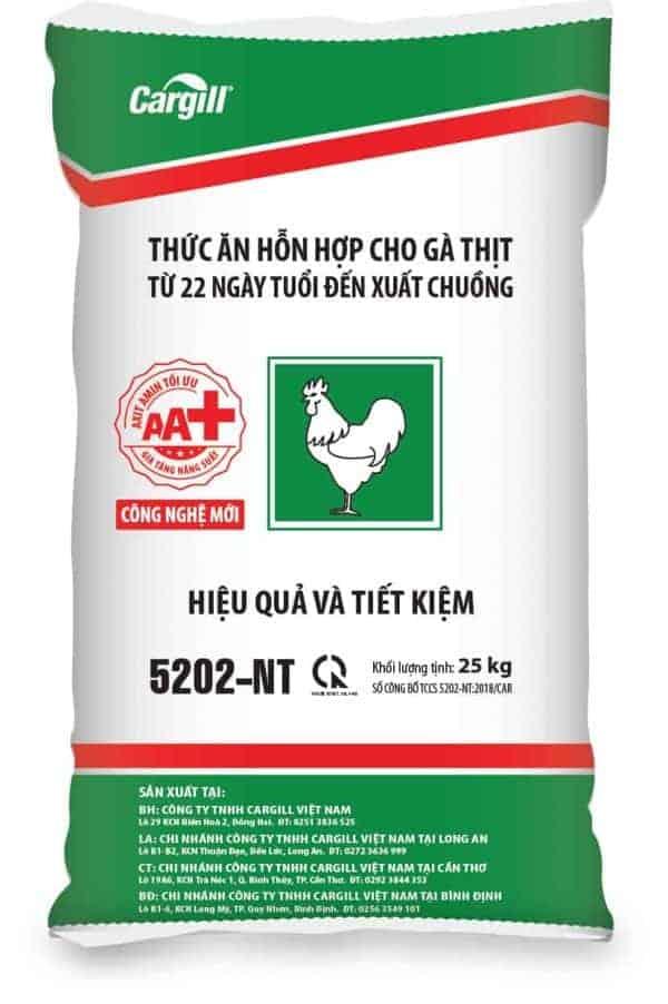 Thức ăn HH cho gà thịt 5202-NT