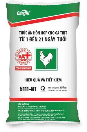 Thức ăn HH cho gà thịt 5111-NT