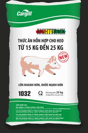 Thức ăn hỗn hợp cho heo 1032 (Từ 15Kg - 25Kg)
