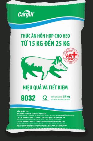 Thức ăn HH cho heo 9032 (Từ 15KG - 25kg)