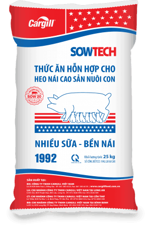 Thức ăn HH cho heo nái cao sản nuôi con 1992