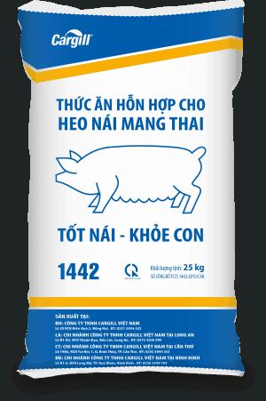 Thức ăn HH cho heo nái mang thai 1442