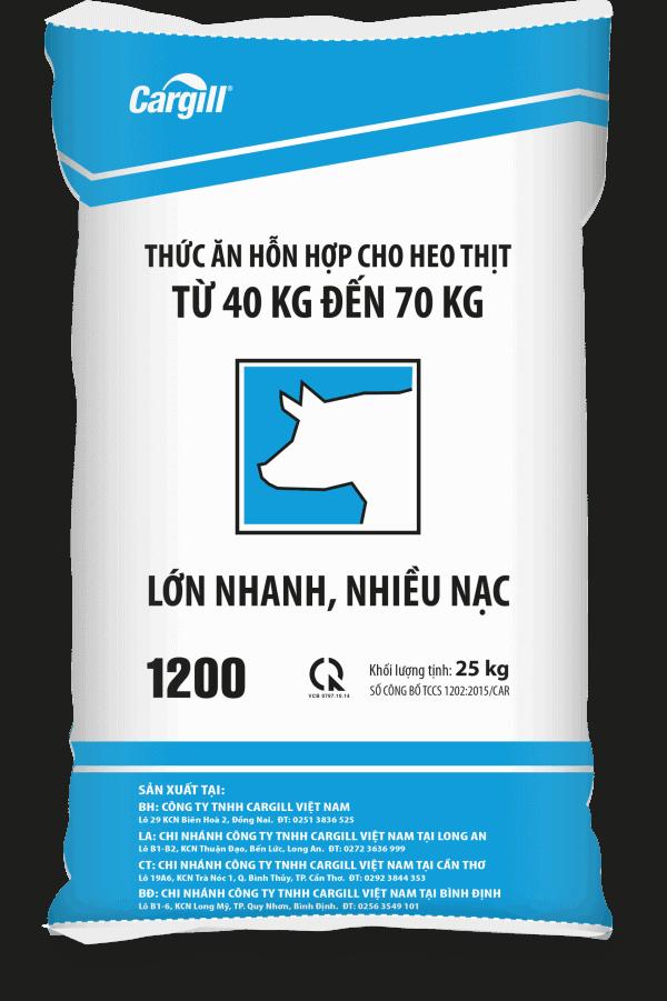 Thức ăn HH cho heo thịt 1200 (Từ 40Kg - 70Kg)