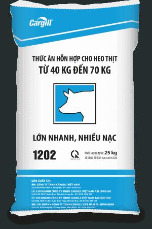 Thức ăn HH cho heo thịt 1202 (Từ 40Kg - 70Kg)