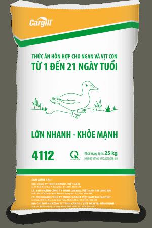 Thức ăn HH cho ngan và vịt con 4112