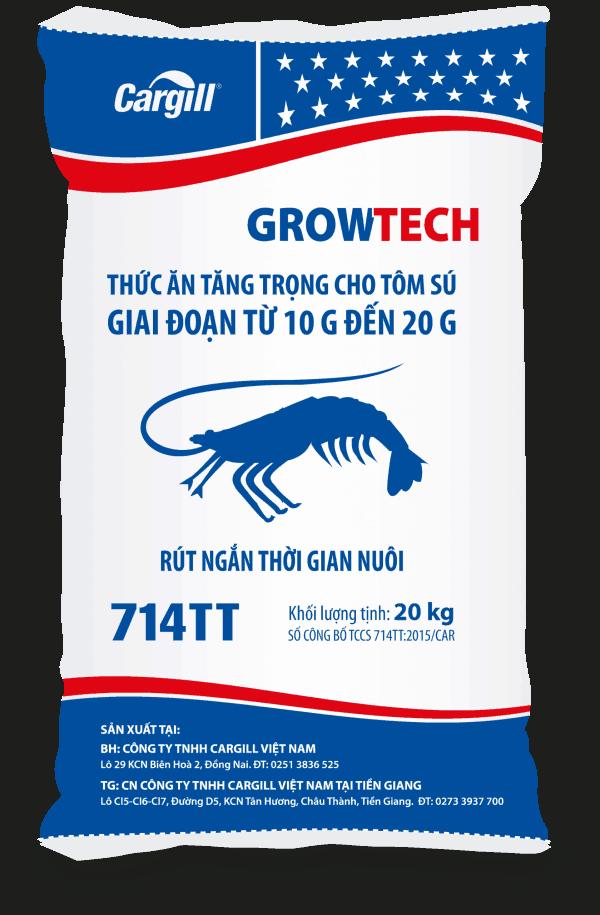 Thức ăn tăng trọng cho tôm Sú 714TT